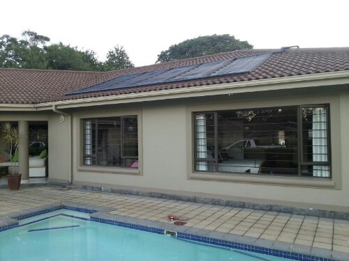 Another Pool Heated In Hillcrest Durban Using Solar